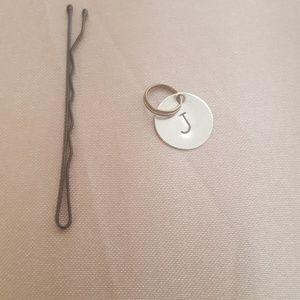 Jewelry - J necklace charm